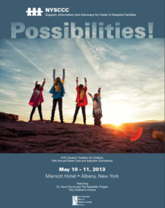 2013 possibilities new york  foster care and adoption conference