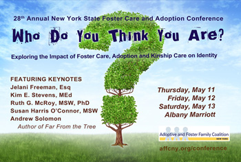 What are the laws regarding adoption in the state of New York?