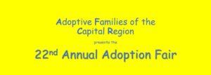 22nd Annual Adoption Fair; Albany
