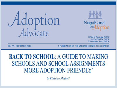 Adoption Awareness in School Assignments A Guide for Parents and Educators