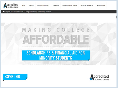 College Scholarships For Minority Students