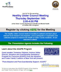 Healthy Ulster Council Meeting