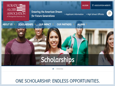 Horatio Alger NY Scholarship Program