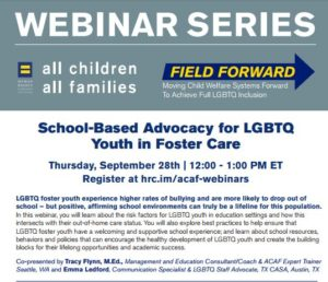 School-Based Advocacy for LGBTQ Youth in Foster Care