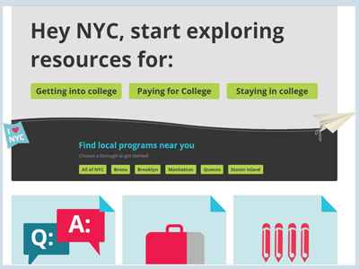 NYC college assistance