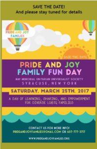 Pride and Joy Family Fun day 2016