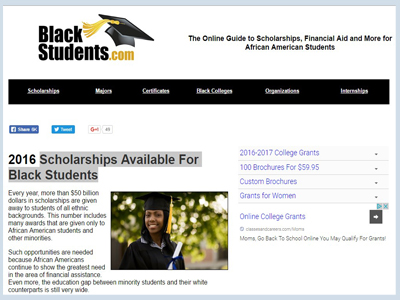 Scholarships Available For Black Students