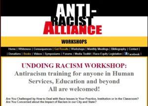 Undoing racism workshop NY
