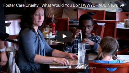 foster care cruelty what would you do