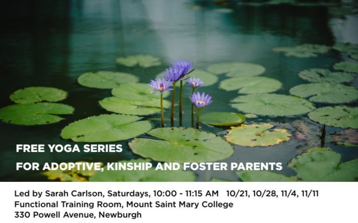 FREE YOGA SERIES FOR ADOPTIVE, KINSHIP AND FOSTER PARENTS