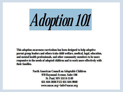 adoption awareness curriculum