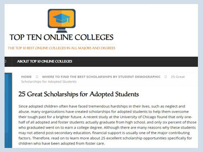 https://www.top10onlinecolleges.org/scholarships-for/adopted-students/