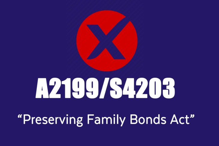 A2199- S4203 Preserving Family Bonds Act