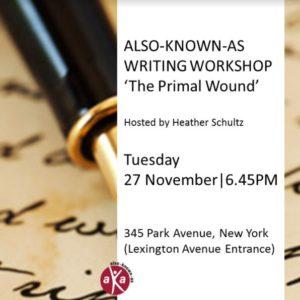 AKA Writing Workshop Primal Wound