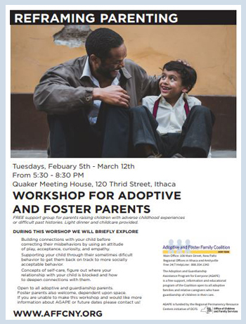 CNY Free adoptive parent training winter ithaca 2019