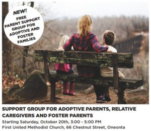 Delaware and Otsego adoptive parent support group