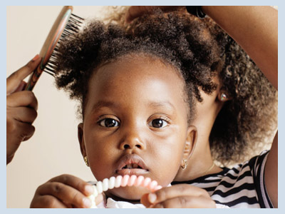 Black hair and the ways in which it is worn are a significant part of black culture. By helping your child in styling and caring for their hair, you can help them to connect with, and take pride in, that part of their cultural heritage.