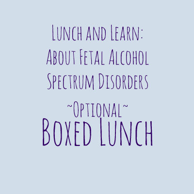 FASD Boxed Lunch Order