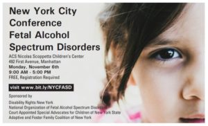 New York City Conference Fetal Alcohol Spectrum Disorders