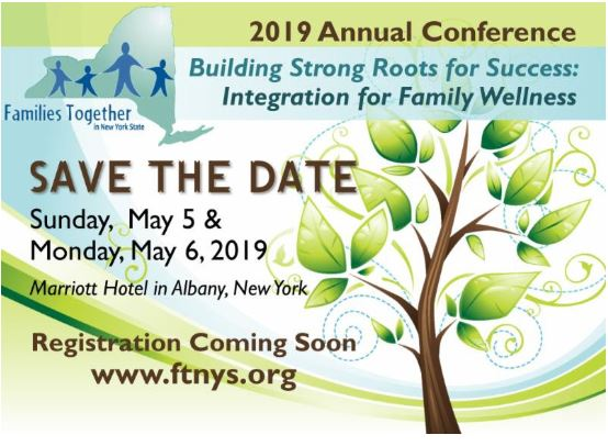 Families Together 2019 Annual Conference- Albany – AFFCNY