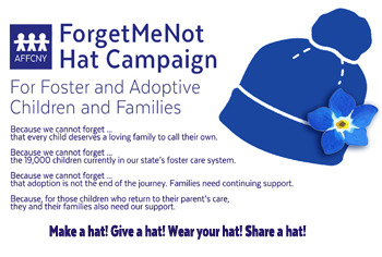Join the Forget-Me-Not Blue Hat Campaign!
