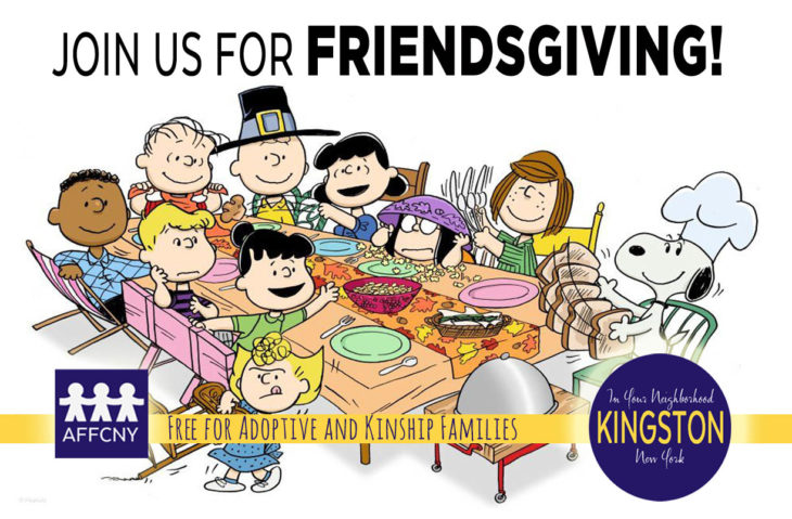 Hudson Valley Friendsgiving adoptin foster families 2019