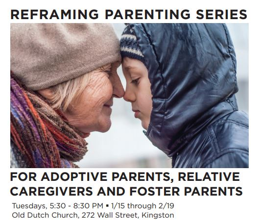Free parent training FOR ADOPTIVE PARENTS, RELATIVE CAREGIVERS AND FOSTER PARENTS