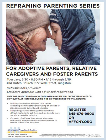 Free training for adoptive parents kingston ny