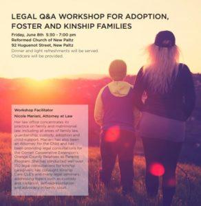Hudson valley adoption legal clinic