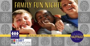 Family Fun Night with the Brain Game for adults and youth craft event