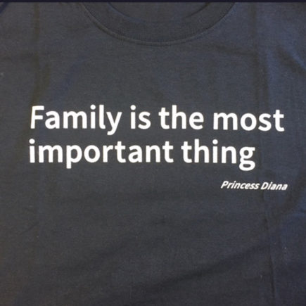 Family is the Most Important Thing T shirt