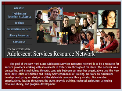 New York State Adolescent Services Resource Network