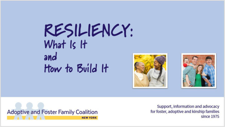 RESILIENCY: What Is It and How to Build It