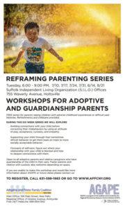Reframing Parenting; Suffolk Summer Series 2018 LI