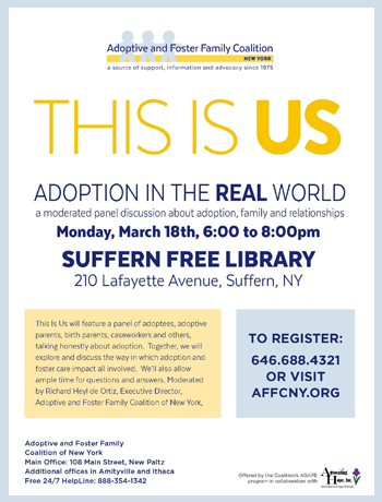 This is us adoption in the real wolrd discussion suffern ny 2019