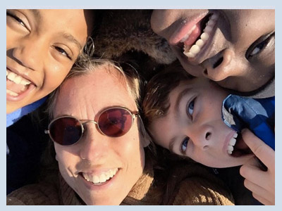 As a white mother to black children, I'm not at liberty to blithely move without question through our racialized world. Nor can I ignore the impact of white privilege on my family and how I raise my kids.