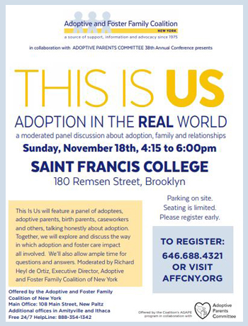This Is Us: Adoption In The Real World: Brooklyn