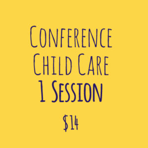 Conference Child Care 1 session