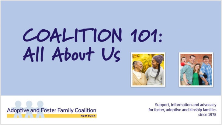 COALITION 101: All About Us