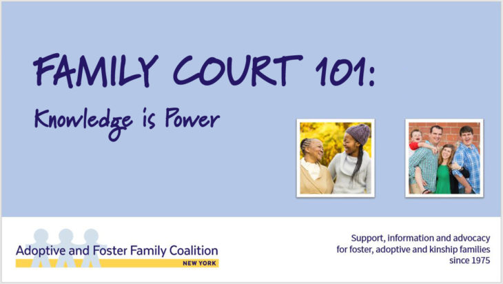 FAMILY COURT 101: Knowledge is Power