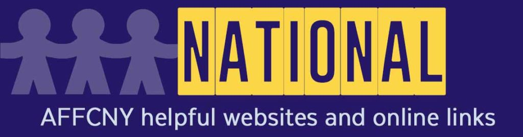 foster care, kinship and adoption infomation and websites national AFFCNY
