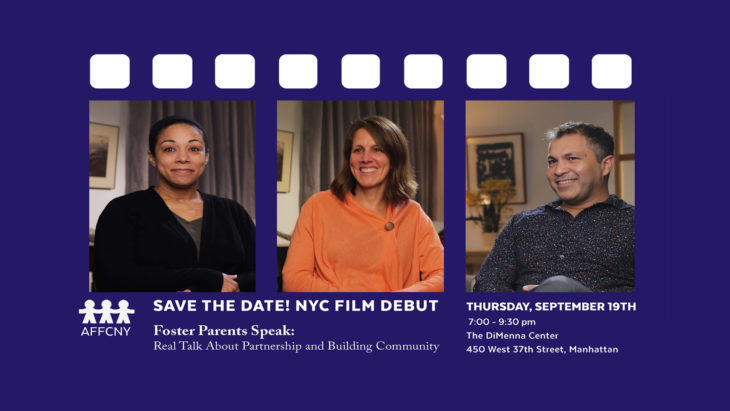 "New York City Film Debut: ""Foster Parents Speak"" Screening and Discussion"