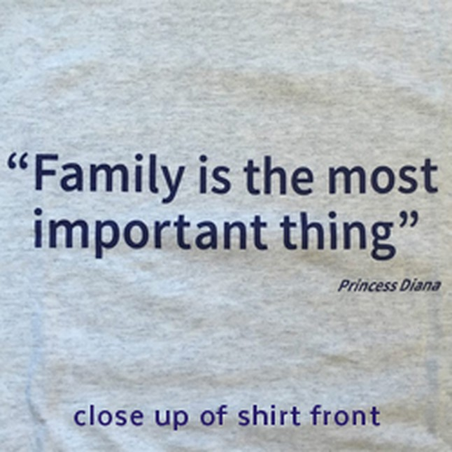 Small Family Is The Most Important Thing T Shirt Affcny