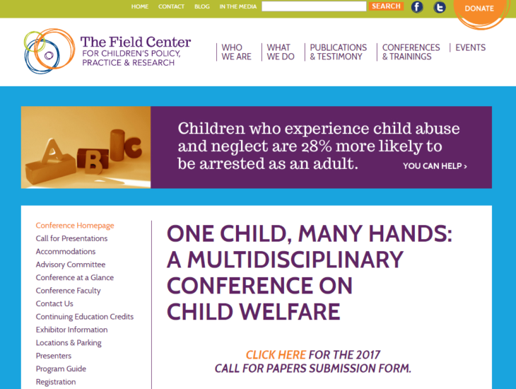research papers on foster children The child welfare research portfolio includes research on children who are maltreated or who are at risk for child maltreatment children and families who come to the attention of child protective services and children and families who are receiving.