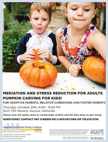 Pumpkins, Mediation and Stress Reduction; Suffolk