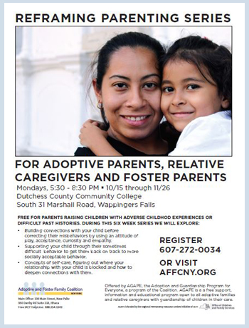 Reframing Parenting Fall Series; Dutchess