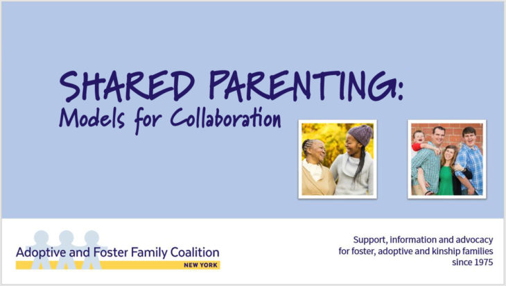 SHARED PARENTING: Models for Collaboration