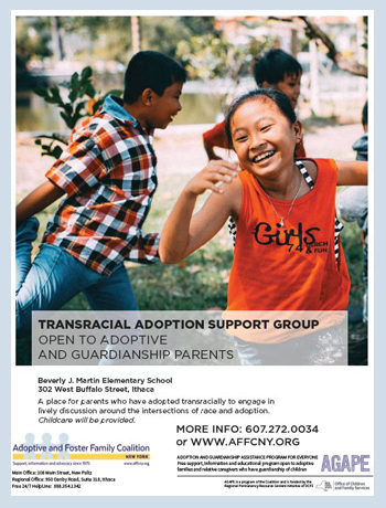 open discussion about transracial adoption ithaca nw