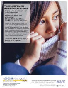 Trauma Informed Parenting Workshop; Long Island