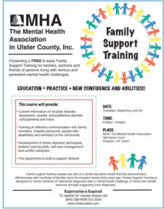 FREE 8-Week Family Support Training Workshop